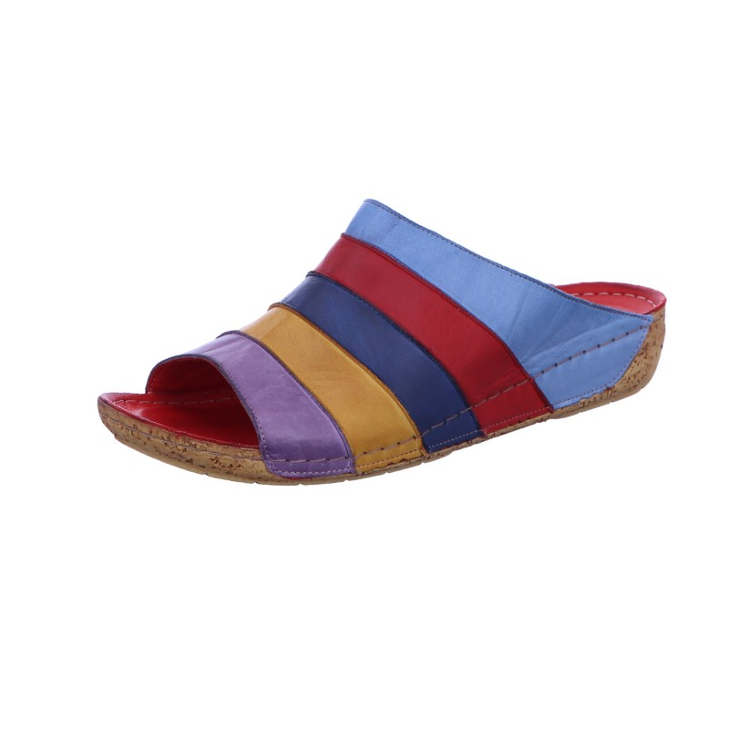 Pantolette Freizeit Damen Multicolor