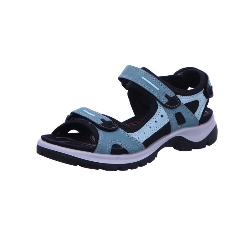 Sandale Wandersandale Damen Blau Offroad Neu