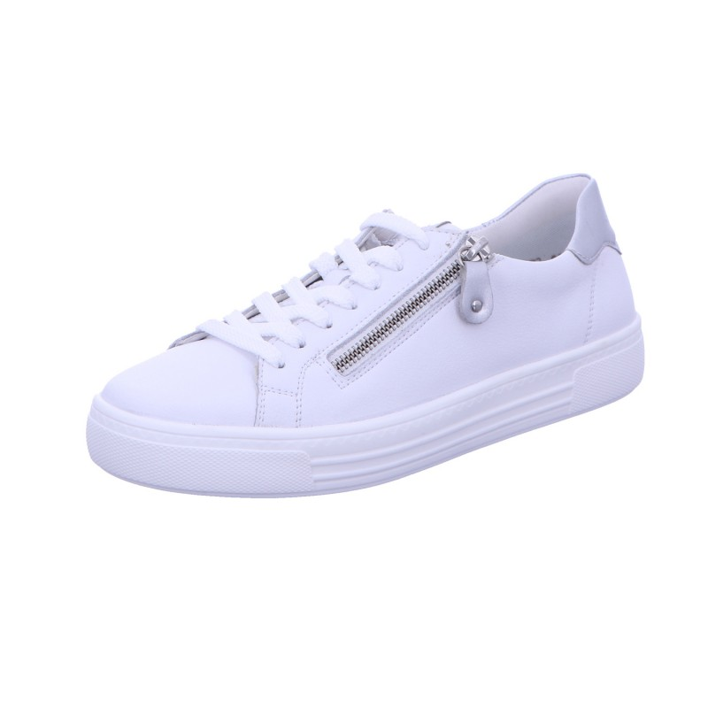 Sneaker Schnürschuh Sportlich Damen Weiß Neu