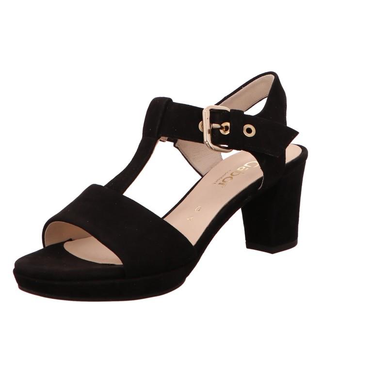 Sandalette Absatz Sommerschuh Damen St. Tropez Neu