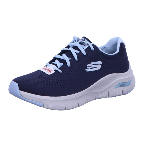 Sneaker Halbschuh Freizeit Damen ArchFit Blau