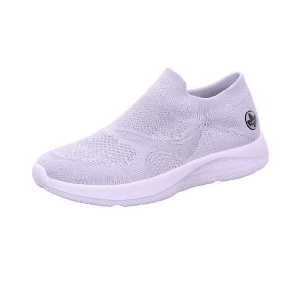 Sneaker Sportschuh Slipper Damen Grau Neu