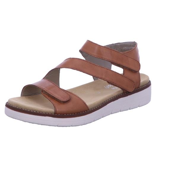 Sandalette Absatzschuh Sommer Damen Braun Neu