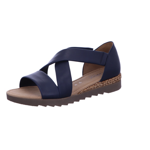 Sandale Freizeit Damen Blau Rhodos