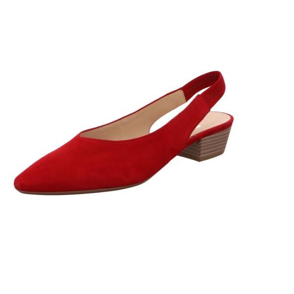 Slingpumps Elegant Freizeit Damen Rot