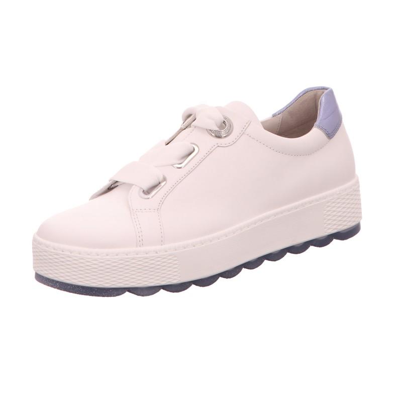 Sneaker Sportschuh Schnürschuh Damen Weiß Florenz