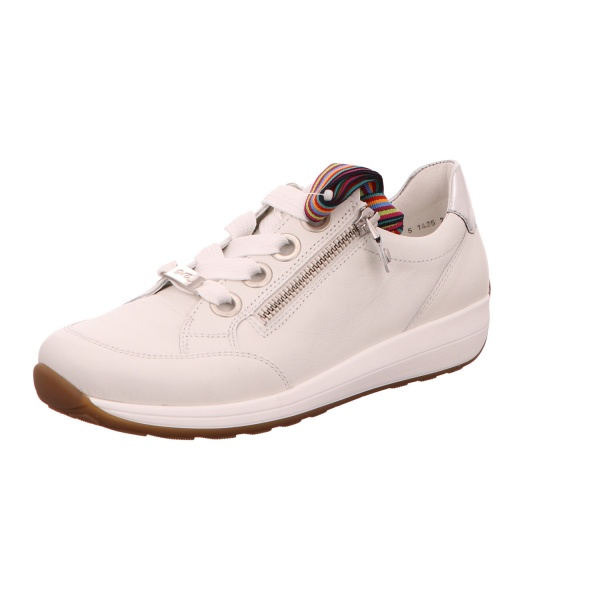 Sneaker Sportschuh Schnürschuh Damen Weiß Osaka