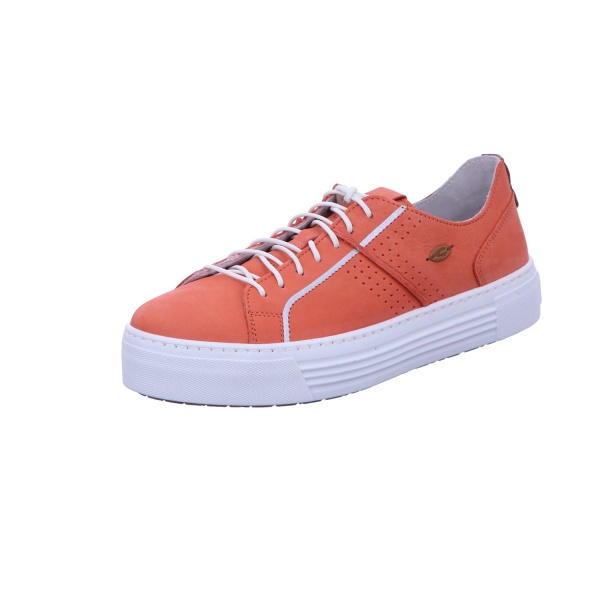 Sneaker Schnürschuh Sport Damen Orange Innocence