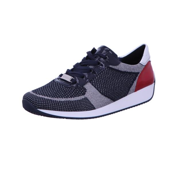 Sneaker Sport Halbschuh Damen Blau-Kombi Lissabon