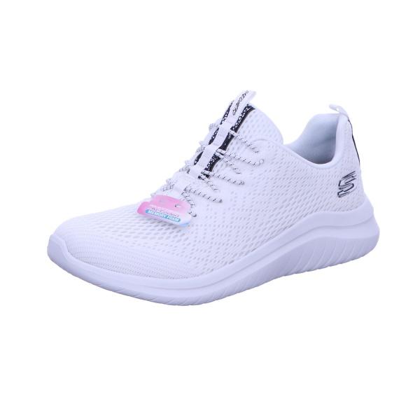Sneaker Halbschuh Freizeit Damen Ultra-Flex Weiss