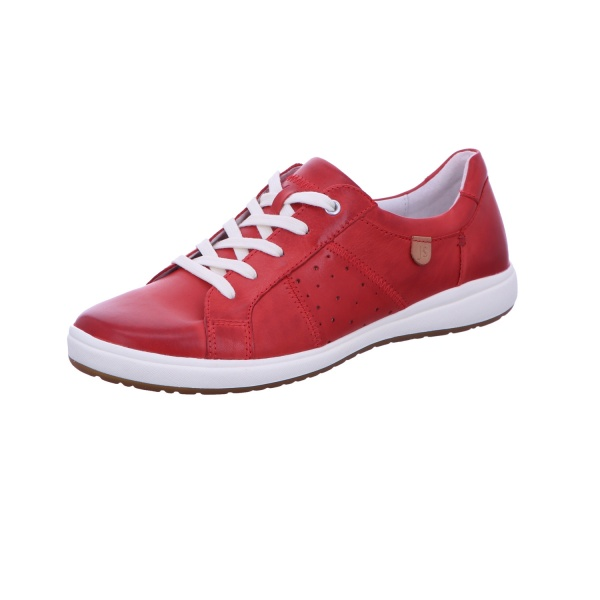 Sneaker Halbschuh Freizeit Damen Rot Caren 01