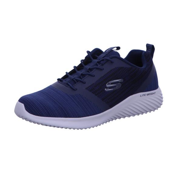 Sneaker Sportschuh Schnürschuh Herren Blau Neu