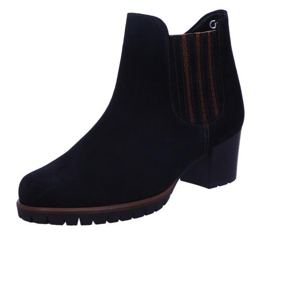 Schlupfstiefelette Stiefel Boots Damen Blau Athen