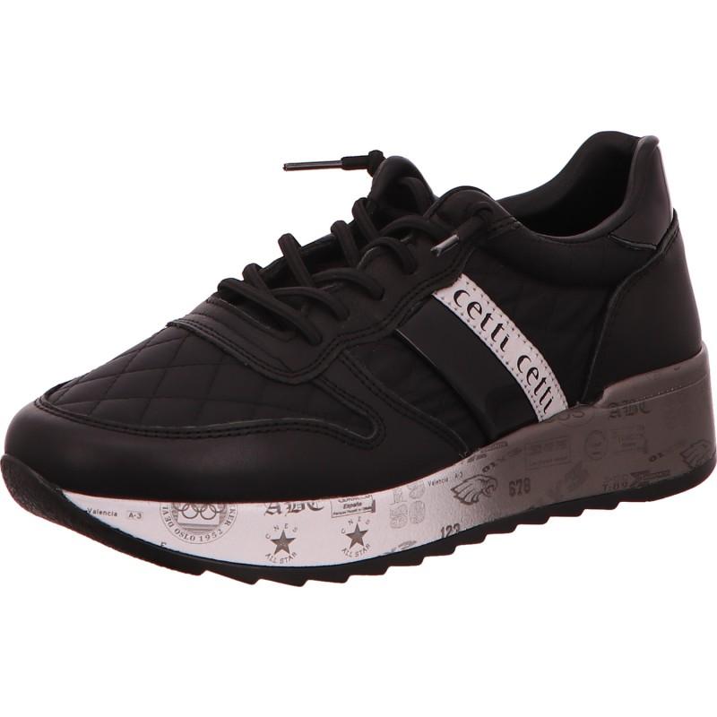 Damen Sneaker Sweet Charol Black