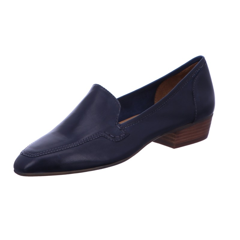 Lawrence Slipper Trotteur Pumps dunkelblau