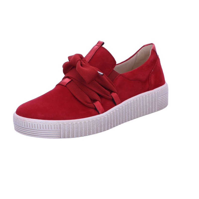 Sneaker Slipper Freizeit Damen Rot