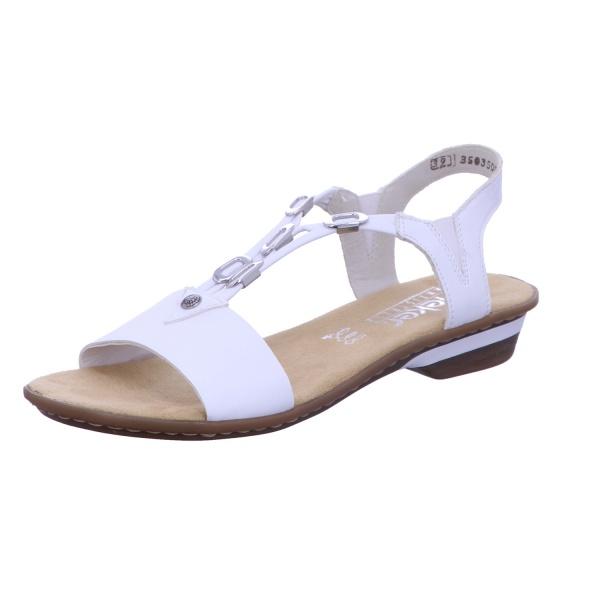 Sandalette Absatzschuh Sommerschuh Damen Weiß Neu