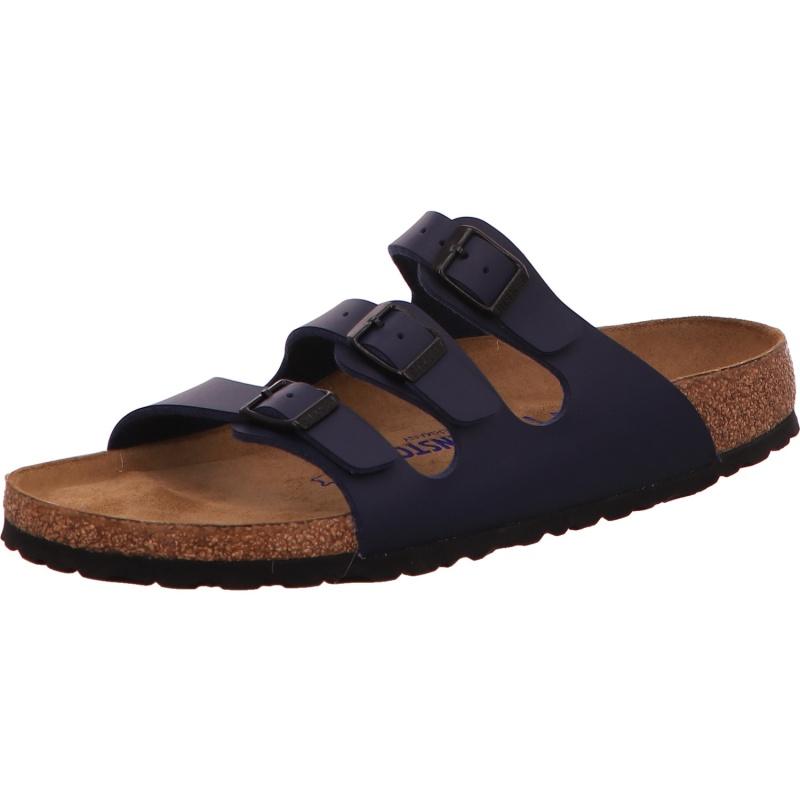 Pantoletten Sandalen Damen Blau Florida Neu