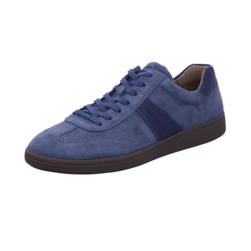Sneaker Schnürhalbschuh Sport Herren Blau Retro