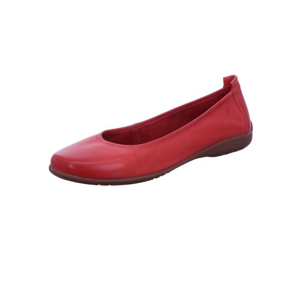 Ballerina Freizeit Damen Rot Fenja 01