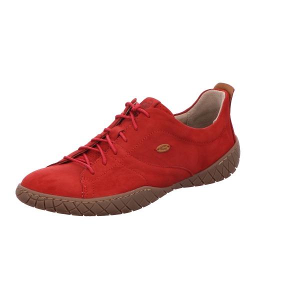 Sneaker Schnürschuh Sport Damen Rot Inspiration