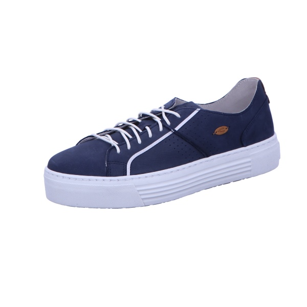 Sneaker Schnürschuh Sport Damen Blau Innocence