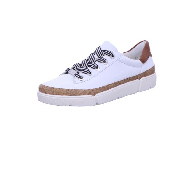 Sneaker Schnürhalbschuh Sport Damen Weiß Rom