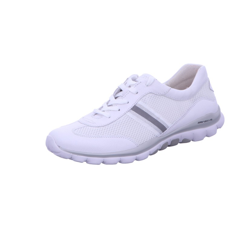 Sneaker Halbschuh Freizeit Damen Weiß Neu