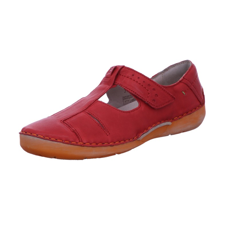 Slipper Freizeit Damen Rot Fergey 81