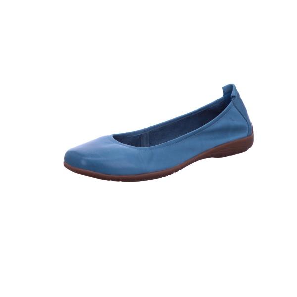 Ballerina Freizeit Damen Blau Fenja 01