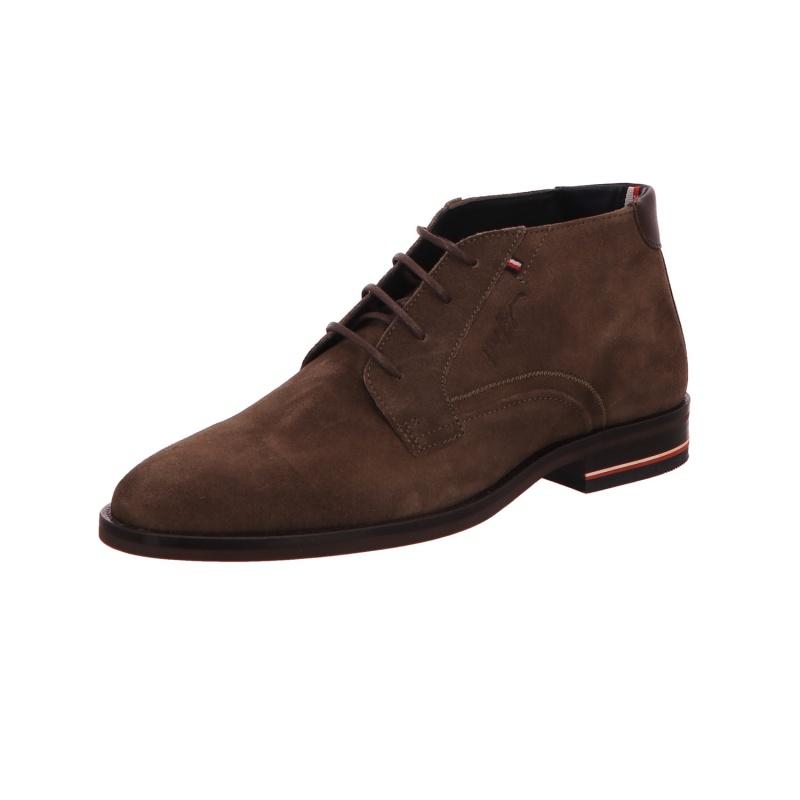 Schnürstiefelette Boots Stiefel Herren Braun Neu