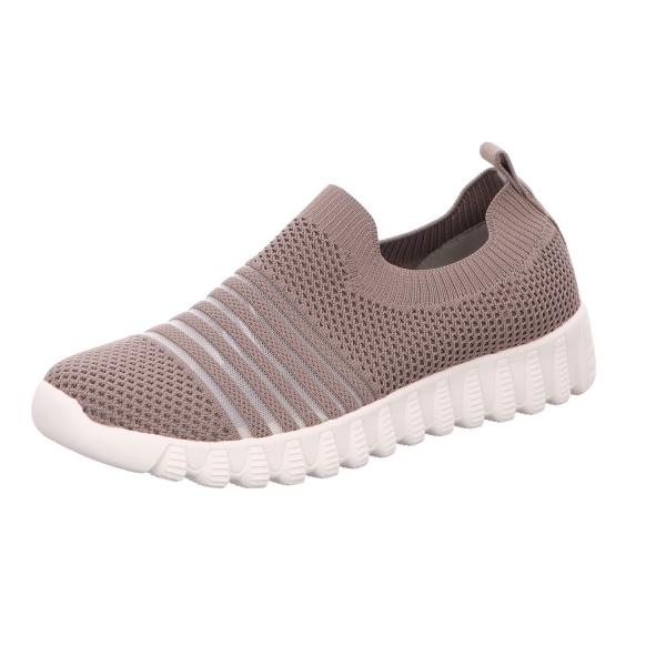 Sneaker Sportschuh Slipper Damen Grau Wylie Neu
