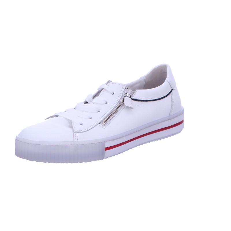 Sneaker Schnürhalbschuh Freizeit Damen Weiss