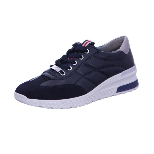 Sneaker Sport Damen Blau-Kombi Neapel-Tron