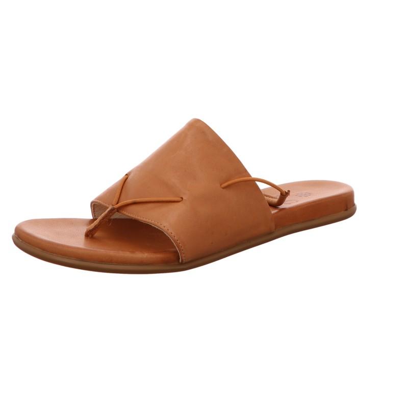 Sandalette Zehentrenner Freizeit Damen Braun Kira