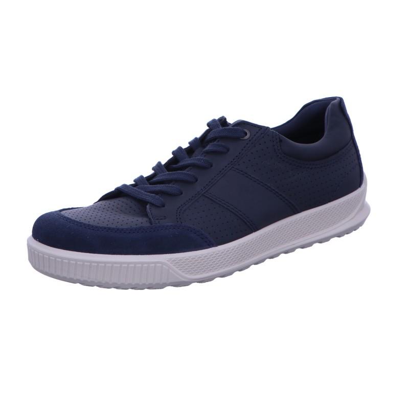Halbschuh Sneaker Sportboden Herren Blau Byway Neu