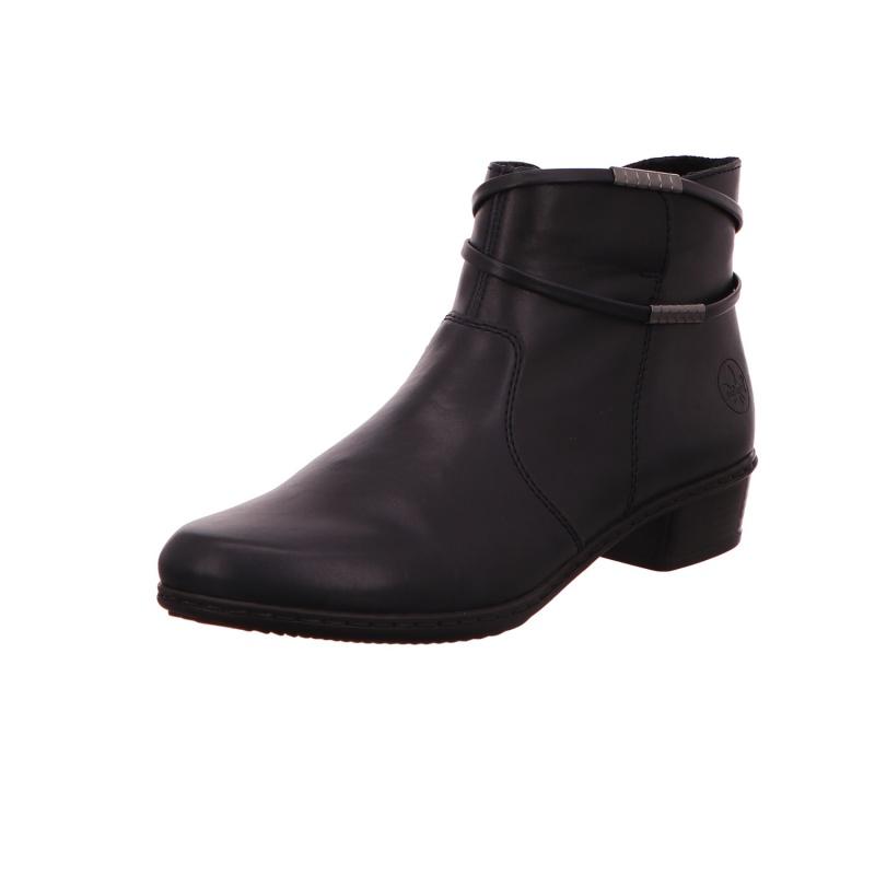 Schlupfstiefelette Stiefel Boot Damen Blau Neu