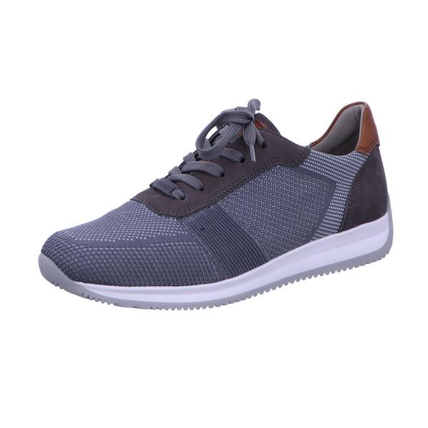 Sneaker Schnürhalbschuh Damen Grau-Kombi Lisboa