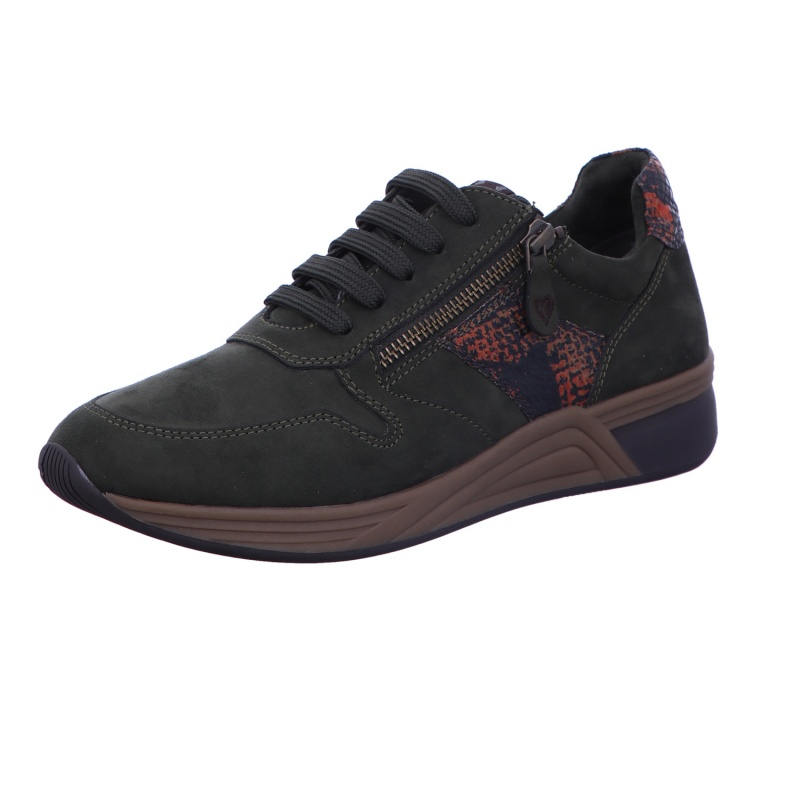 Sneaker Sportschuh Halbschuh Damen Khaki Neu