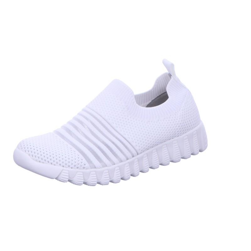 Sneaker Sportschuh Slipper Damen Weiß Wylie Neu