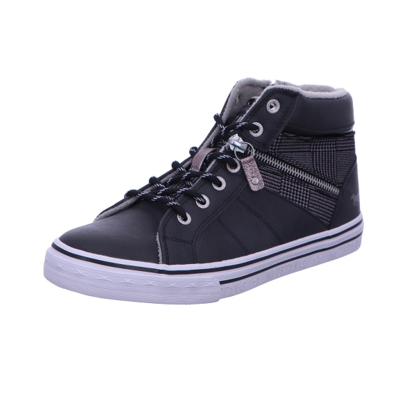 Schnürstiefelette Sneaker Boots Damen Grau Neu