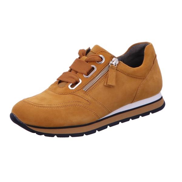 Sneaker Sportschuh Schnürschuh Damen Gelb York