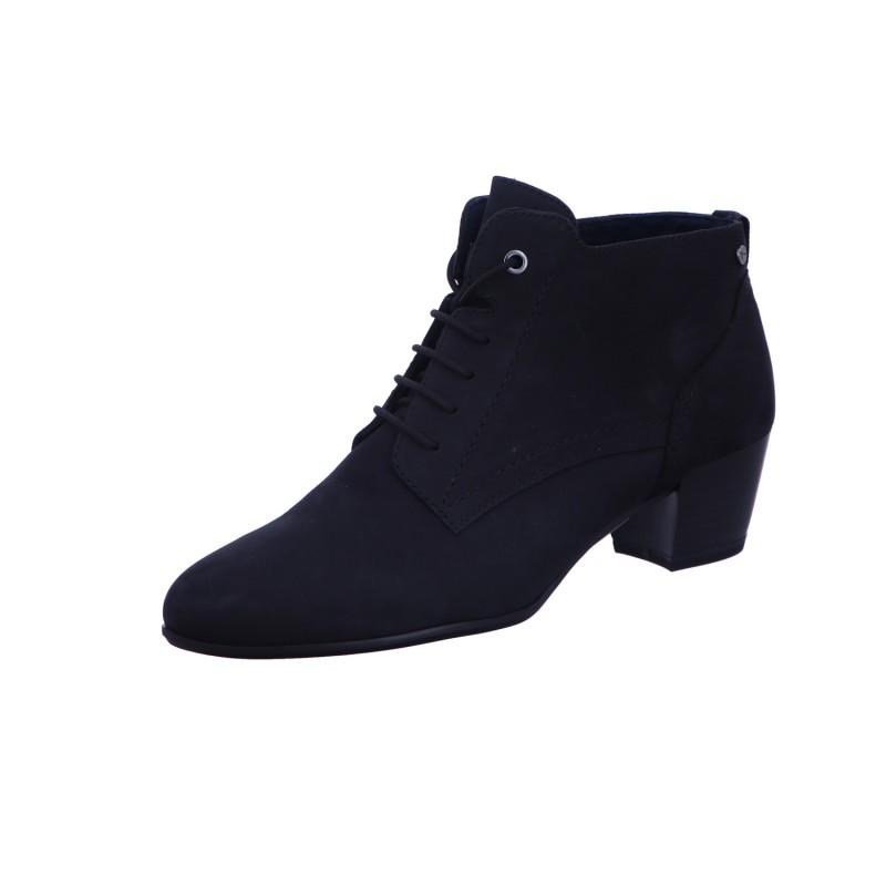 Stiefeletten Schnürstiefel Boots Damen Blau Neu