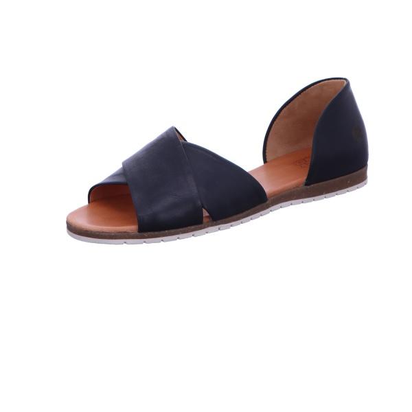 Sandalette Sommerschuh Freizeit Damen Schwarz Neu