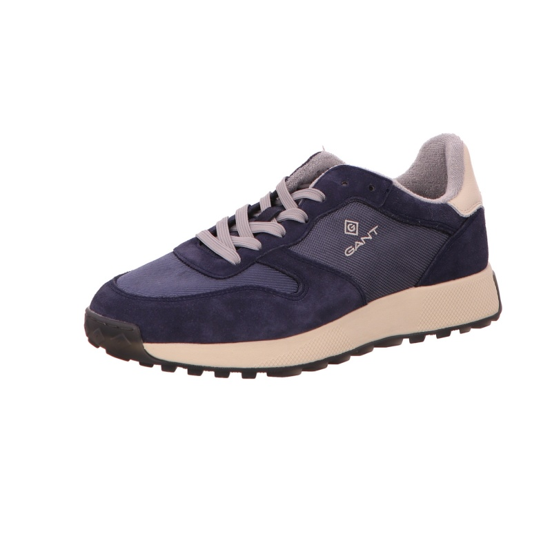 Sneaker Sportschuh Freizeit Herren Blau Garold