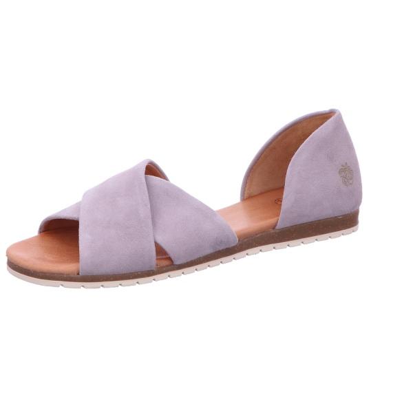 Sandalette Sommerschuh Freizeit Damen Grau Neu