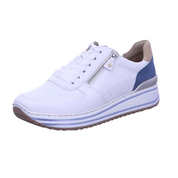 Sneaker Sportschuh Schnürschuh Damen Weiß Sapporo