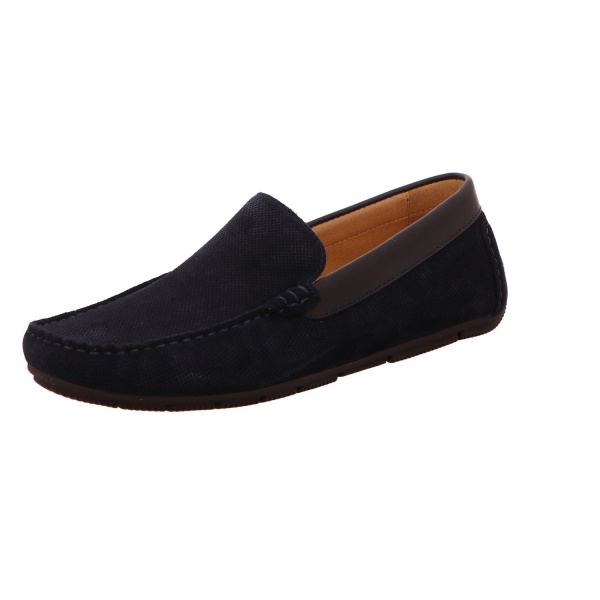 Slipper Business Herren Dunkelblau Salvatore Neu