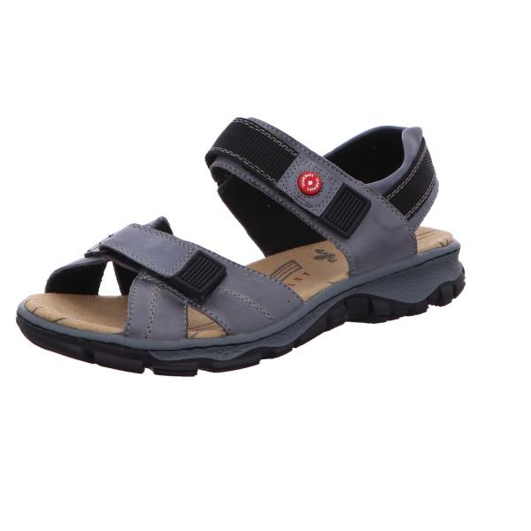 Sandalette Absatzschuh Sommerschuh Damen Grau Neu