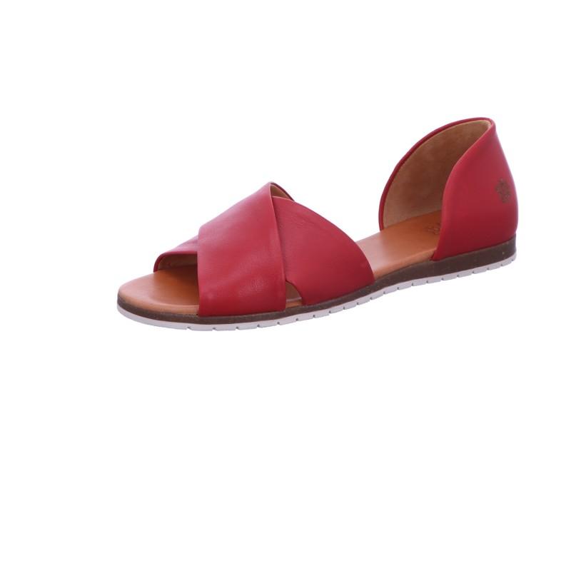 Sandalette Sommerschuh Freizeit Damen Rot Neu